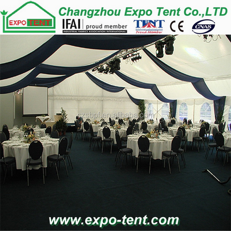 500 People Outdoor Aluminum Pvc Tent Huge Wedding Party Tent