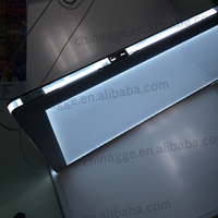 Acrylic Illuminated Led Cable Suspended Real Estate Led Window ...