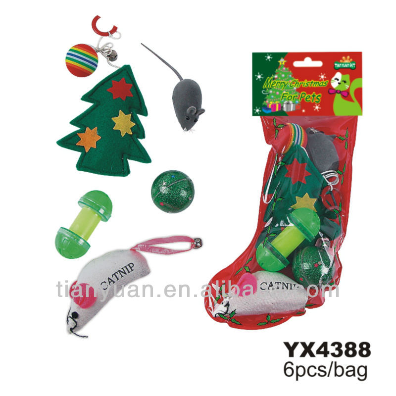 Christmas Gift Set Of Cat Toys Dog Toys Set - Buy Christmas Gift Set ...