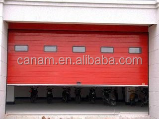 Automatic Industrial Warehouse Aluminium Alloy Sectional Door