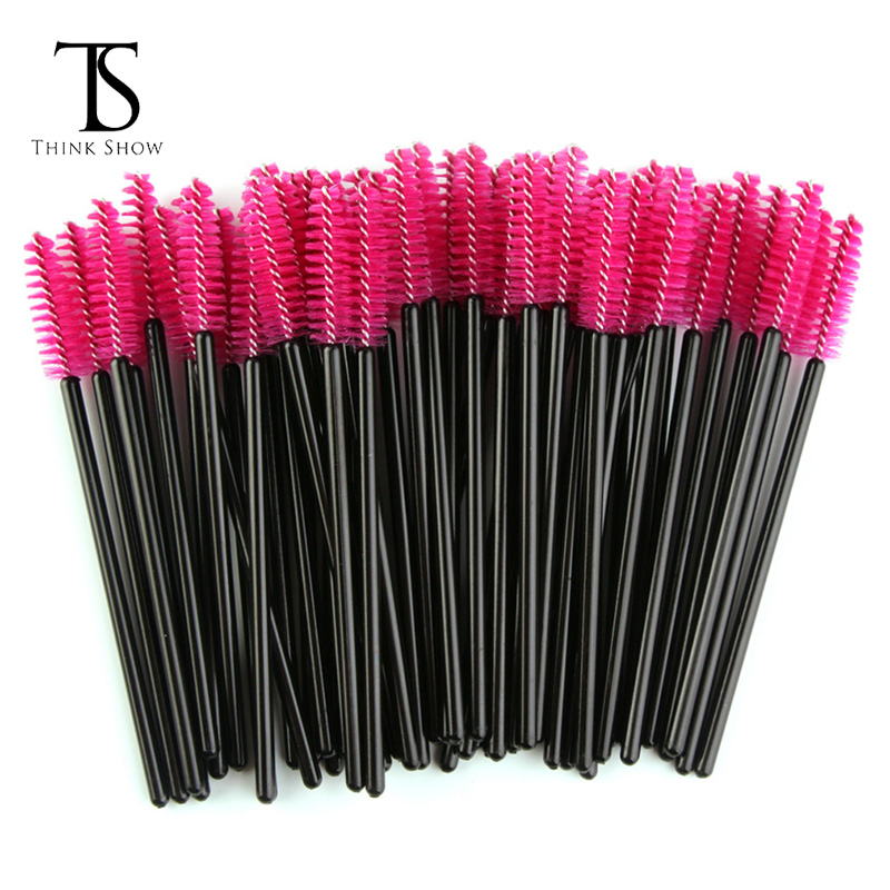 Nieuwe Mode Wegwerp Silicone Wimper Mascara Wands Borstels Cosmetische Wimper Extension Applicators
