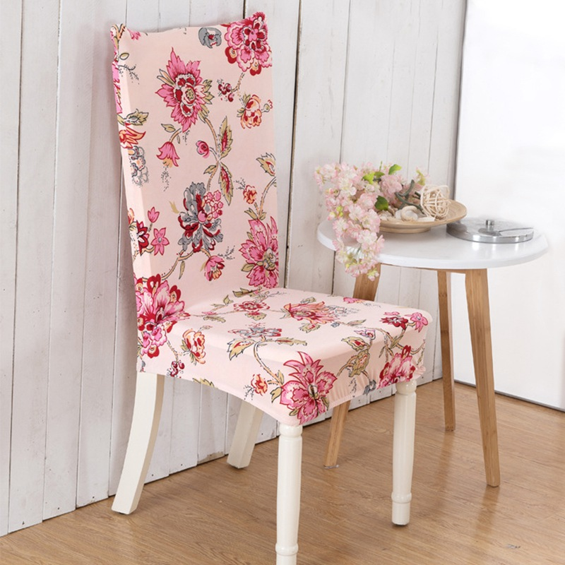 dining room chair slipcovers floral design | Popular Dining Room Chair Cover-Buy Cheap Dining Room ...