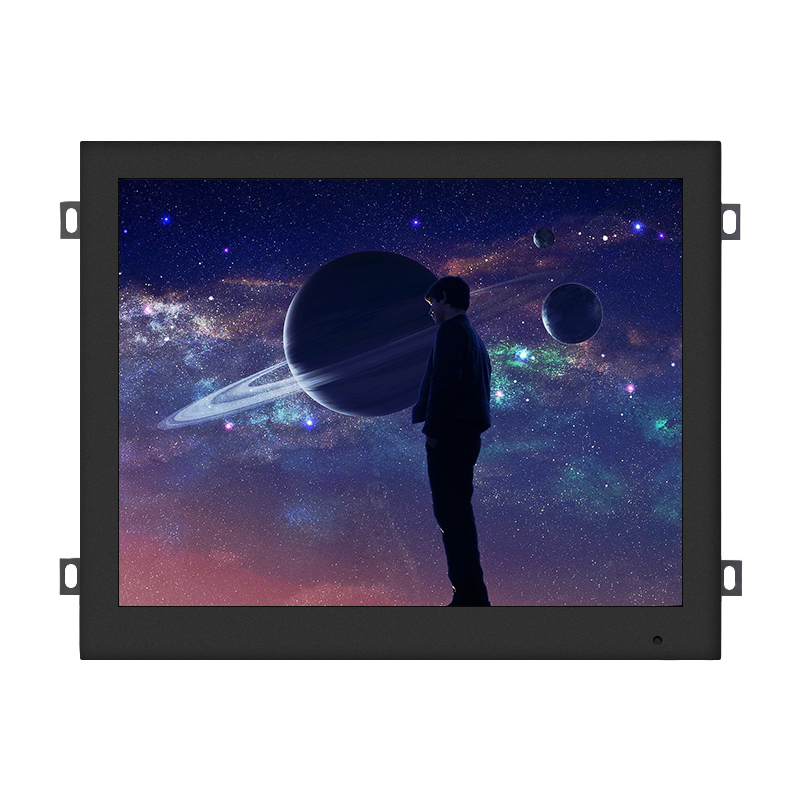 Metal Open Frame 12.1 Inch lcd IPS full angle capacitive raspberry pi Touch Screen Monitor embedded
