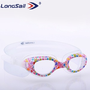 OEM factory funny swimming goggles comfortable silicone for chidren