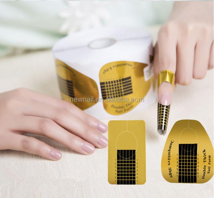 Nail Extension Kit 500pcs Gel Nail Form Paper For Building Uv ...