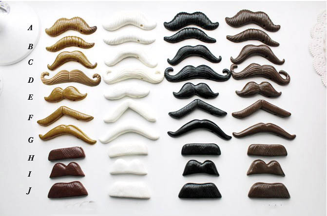 Factory Sale Polymer Clay Mustache on a Stick Photo Booth Props For Wedding Party