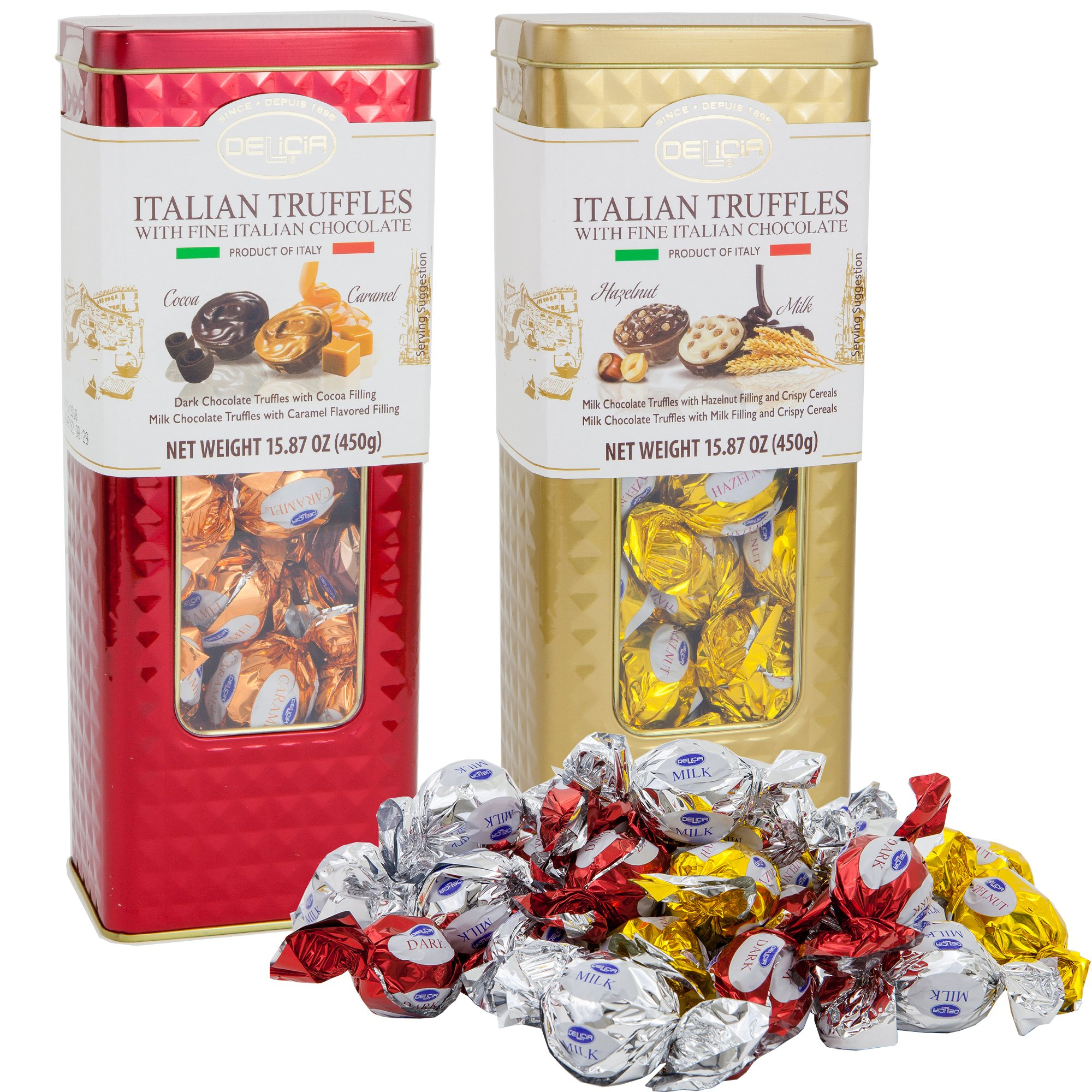Cheap Cream Chocolate Truffles Find Deals Lindt Lindor Dark Gift Get Quotations Fine Italian Milk Candies Set Tin 2 Pack With Cocoa