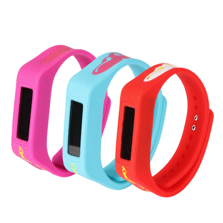 Children Watch Silicone Wristband