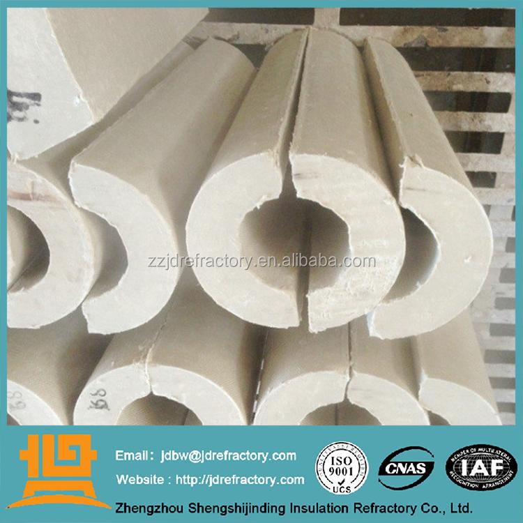Calcium Silicate Pipe Cover : Jdwool copertura tubo di isolamento delle tubazioni