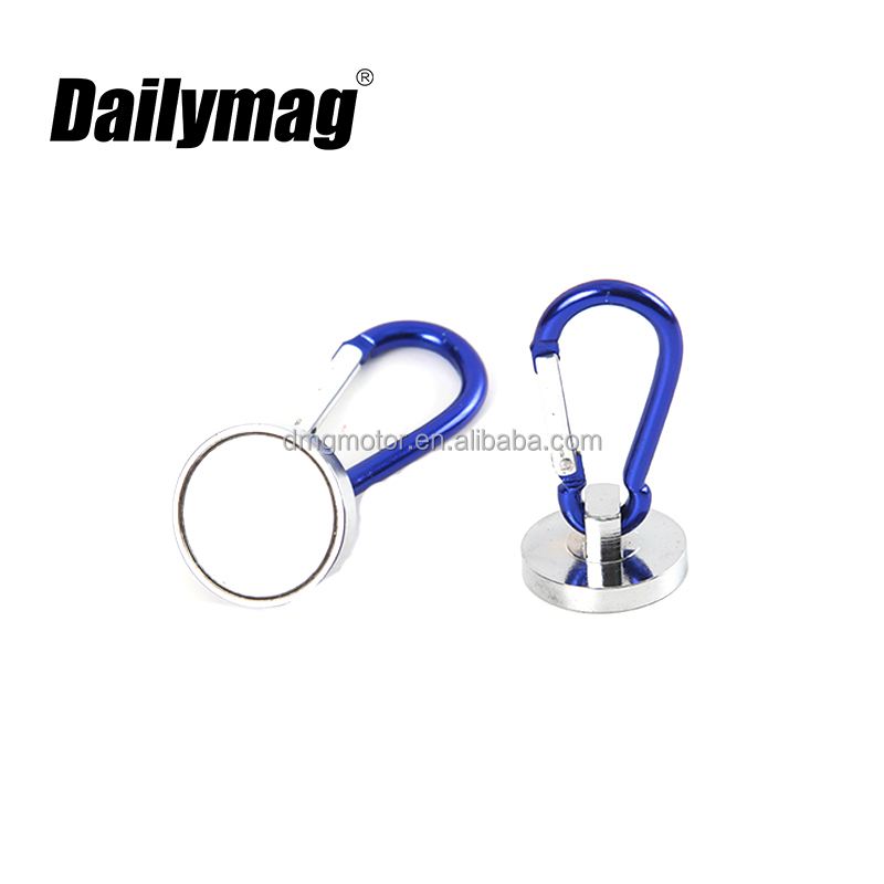 Strong Pull Magnetic Landing Net Release Holder Keeper Fly Fishing Carabiner