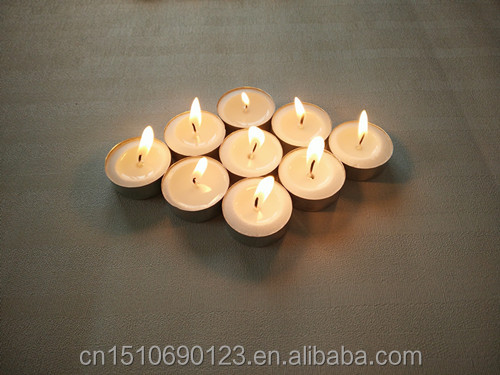 scented tealight candle long burning in pure 100% stearic palm wax