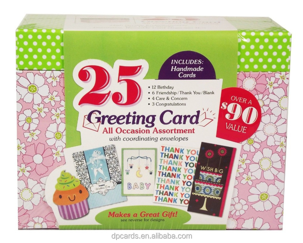 Wholesale paper magic group handicraft paper greeting cards, handmade greeting cards friends designs