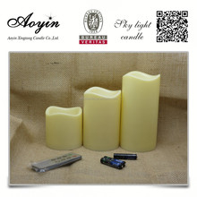 Wholesale 3x6 Scented Wax lighting Pillar candles