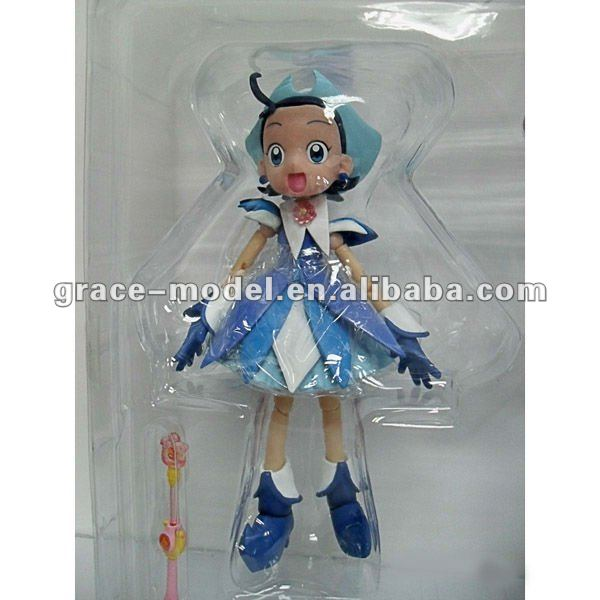 custom small plastic h anime cartoon action figure toys vivid girls