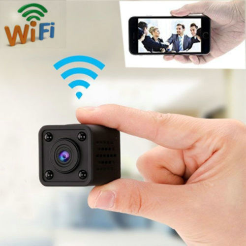 Kubus Mobil DVR Nirkabel P2P Video Jaringan IP Surveillance Malam Visi Motion Detection Alarm Keamanan Rumah 1080P Mini Wifi kamera