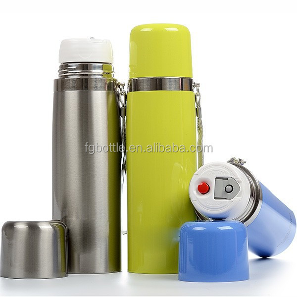 Drinkware Vacuum falsks & Thermoses Stainless steel water bottle