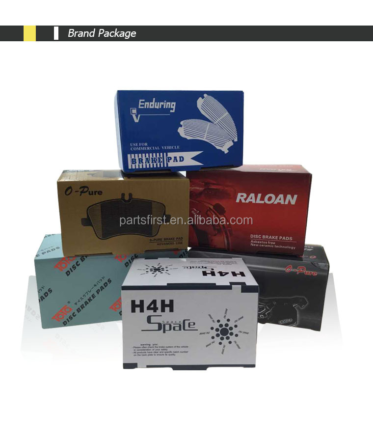 Auto Parts Disc Brake Pads Hot Sale China Supplier For Nissan ...