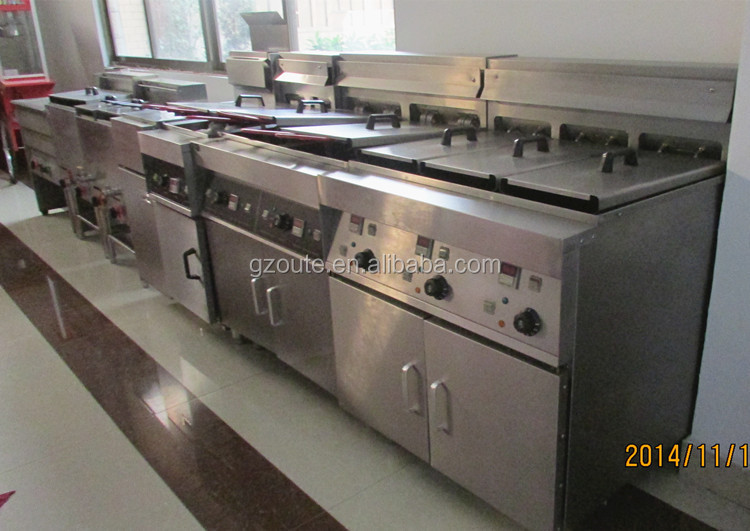 Commercial Deep Chicken Used Gas Deep Fryer With 22l