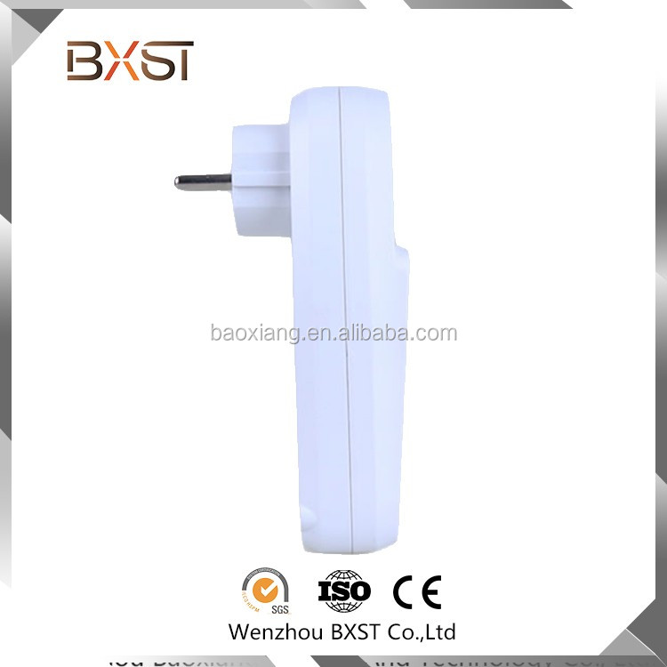 BX-S-01-F CE/ETL/GS Cirtifications Digital Display Energy Multiple Socket, British Socket, Power Socket Protector