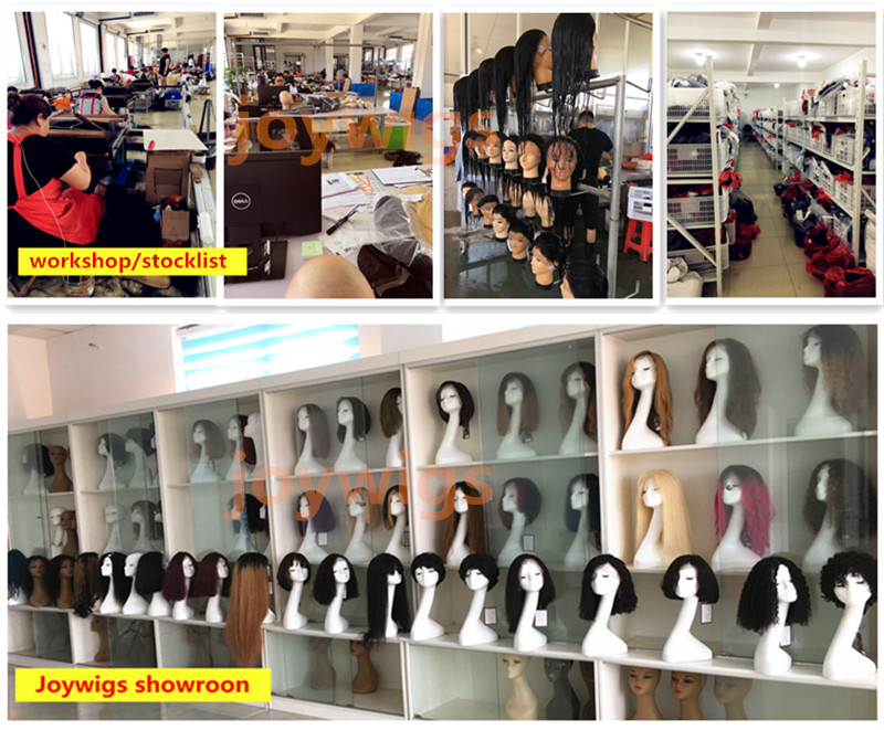 Joywigs 2018 New Style Hot Selling Natural Looking 100% Human Hair Short Bob Lace Front Wig 8in 150% Density