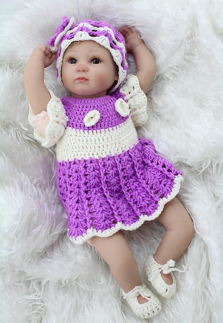 Custom Hot Lifelike Soft Silicone Reborn Babies For