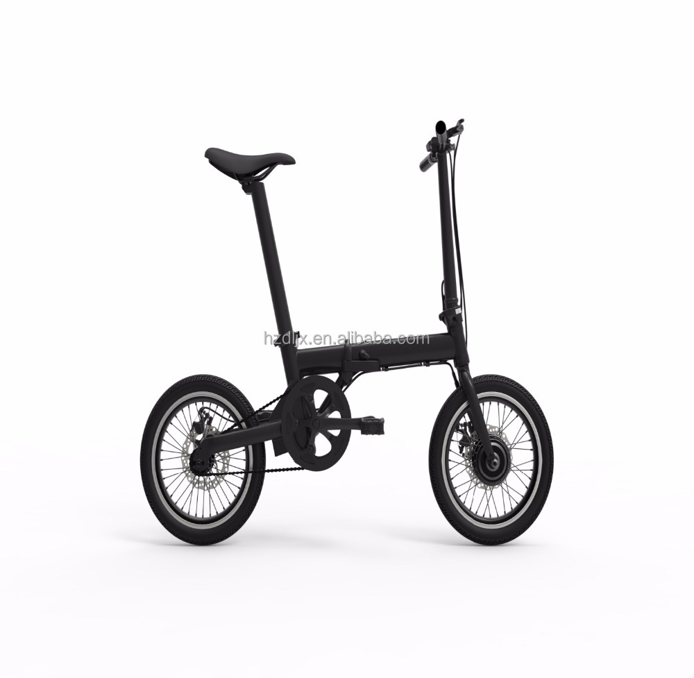 2017 16 inch 36v 250w folding e bicycle cheap electric folding bike with good quality