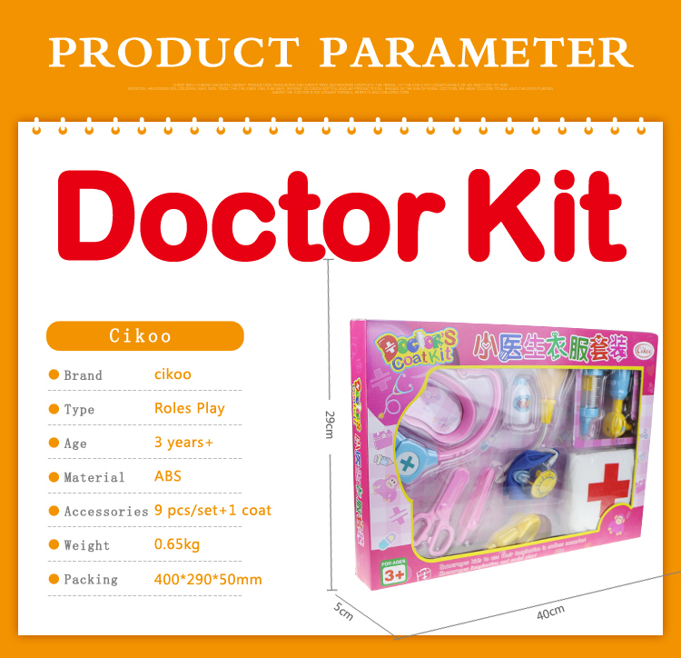 role play hospital medical pretend play toy set doctor toys kits for kids