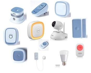heiman smart home monitor smart home h7 kit with z wave smart home kits buy smart home monitor. Black Bedroom Furniture Sets. Home Design Ideas