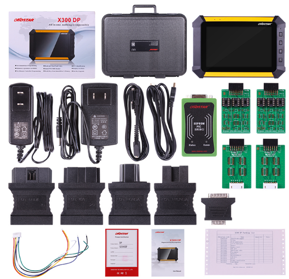 OBDSTAR X300DP Plus C Bluetooth Auto Diagnostic Tool Support DPF EPB Oil TPMS IMMO Key Injector Reset
