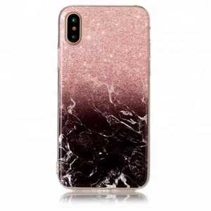 Bloody lines soft TPU marble pattern case