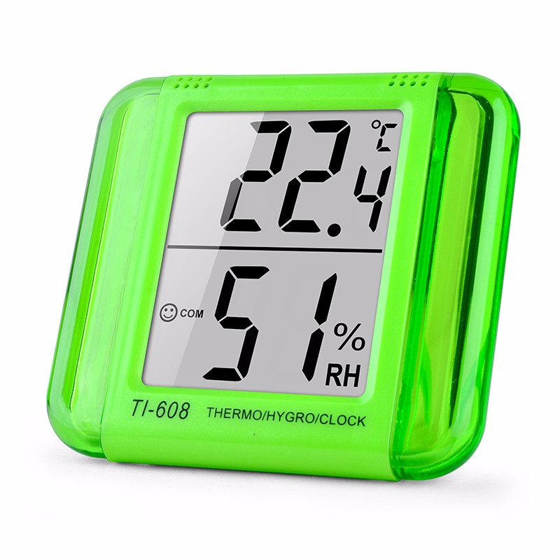 Ti-608 Digital thermometer humidity,temperature controller LED hermocouple industrial temperature and humidity