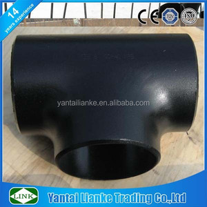 black carbon steel bw tube pipe fitting