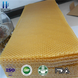 Super quality beekeeping equipment organic wax foundation sheet for bee hive