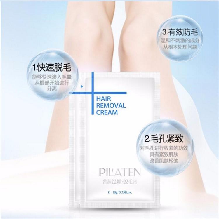 Pilaten 10g Painless Depilatory Cream Legs Depilation ...