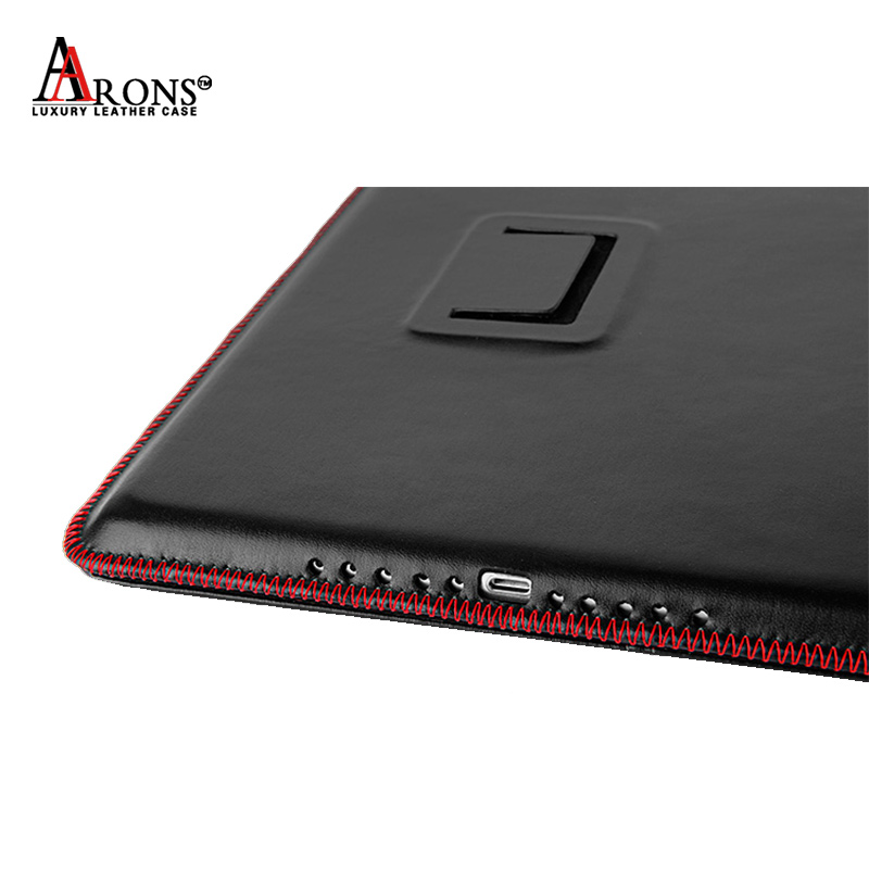 Fashion design new style high quality genuine waterproof shockproof leather protective cover case tablet for ipad air 2