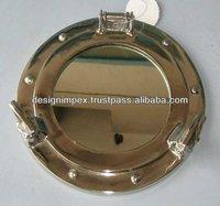 Nautical Aluminum Porthole Mirror Round / Fancy Mirror/ Wall Mirror