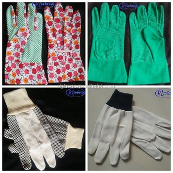 Weifang Adorable Kids Cute Garden Dig Economy Protective Glove/canvas Glove