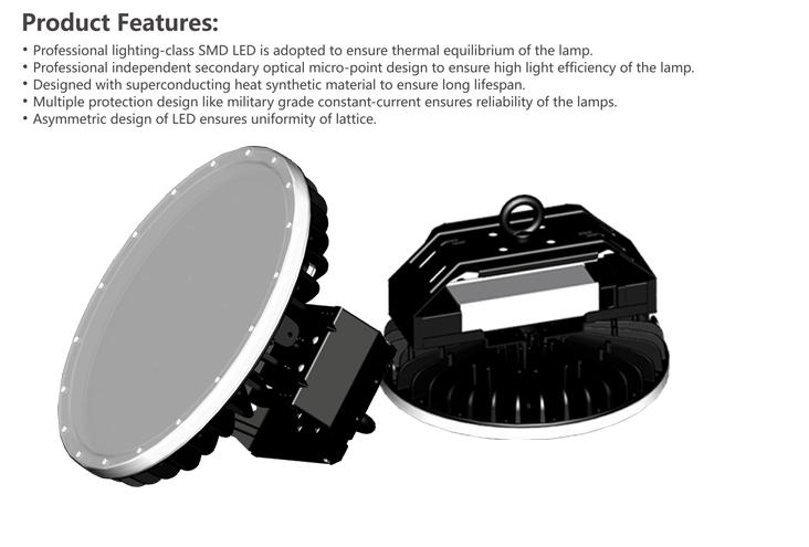 280w Ufo Led High Bay Light,135lm/w,Ip65,37500lm Warehouse Factory ...