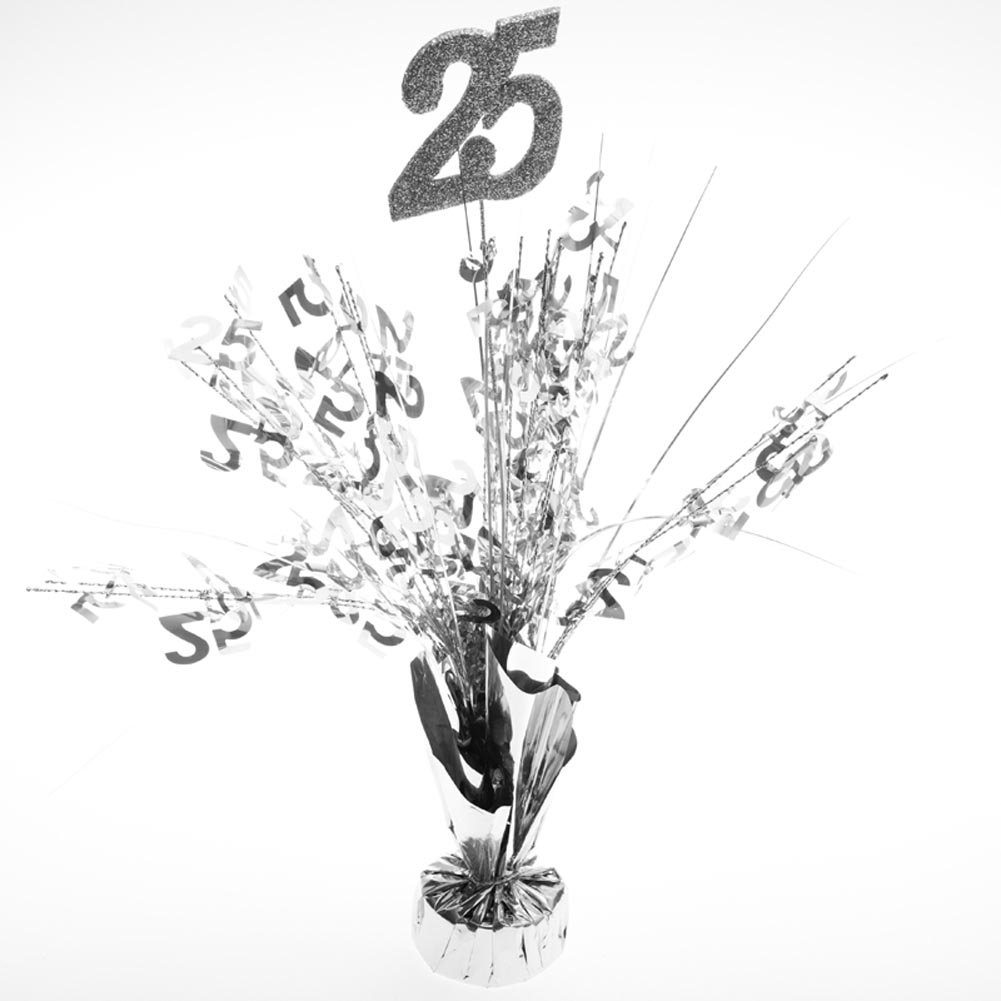 25th Anniversary Centerpieces -pkg/6