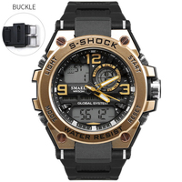 Top Newest Sports Wrist Watches Digital Stop Watch Alarm Electronic Clock