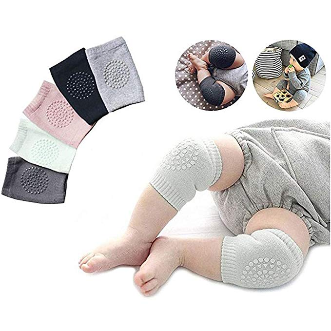 Hot Sale Anti-Slip Unisex Baby Crawling Knee Brace Support Protector Toddler Knee Pads