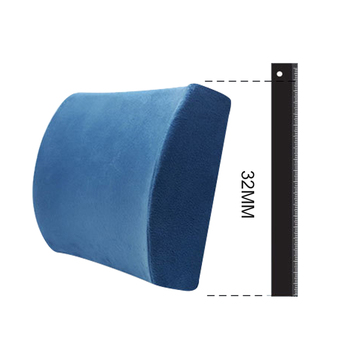TY-M-005 Lumbar Support Pillow and Memory Foam Seat Lumbar Support Cushion for car