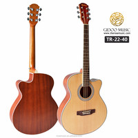 "The rose musical instruments 40"" high quality acoustic guitar made in China (TR-22-40)"