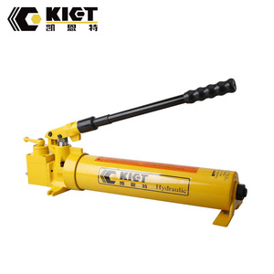 China manufacturer high pressure steel hydraulic hand ram pump with low price