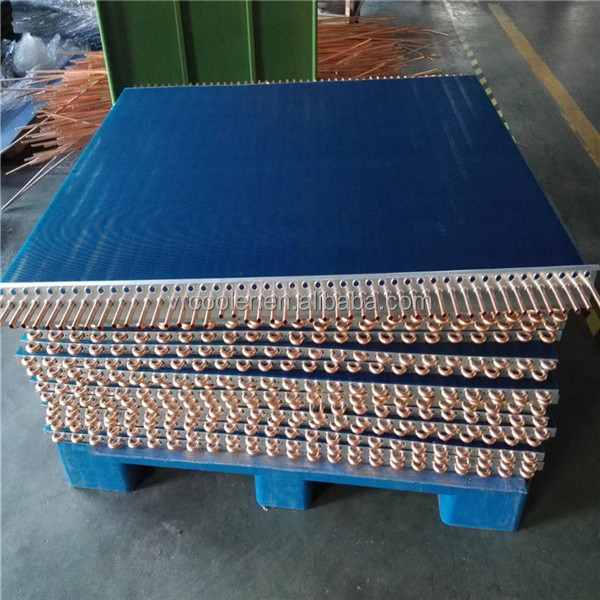 stainless steel 316L tube hot water to air heat exchanger 304 tube evaporator coil for cold storage