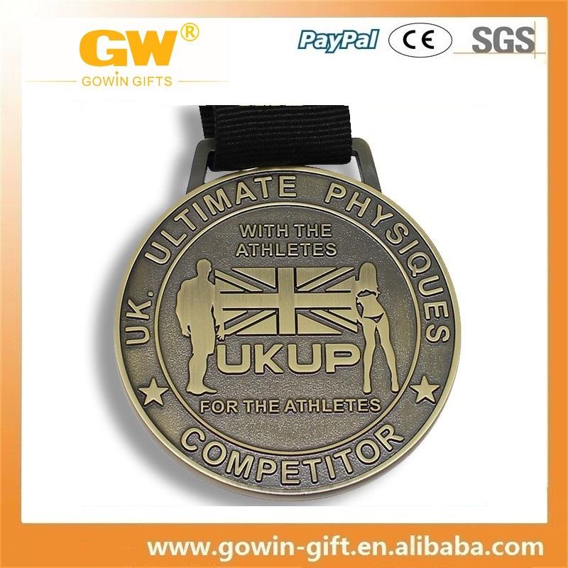 Promotion Wholesale Custom Logo Blank League Sports Champion Medal ...