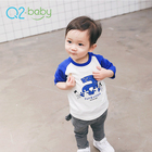 Q2-baby Hot Sale Oem Toddler Clothing Lovely Cute Baby T-Shirts