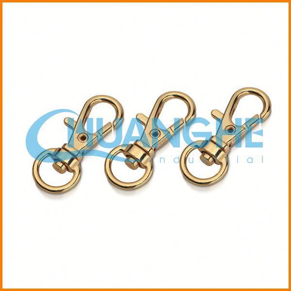 Fashion High Quality safety d shape screw lock carabiner