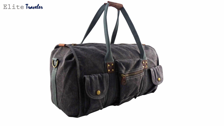 ba4ead1d31f Lifetime Warranty - Canvas Duffle Bag - tough, durable duffle bag for men -  for