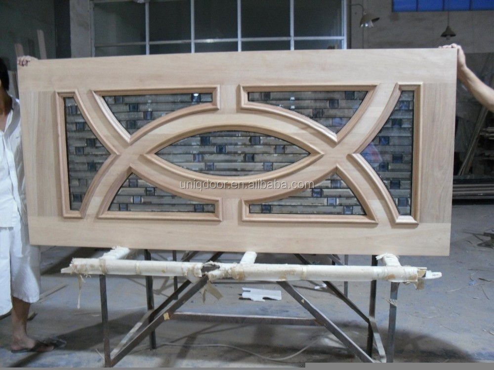 White stile and rail door top arched interior french door for Door rails and stiles